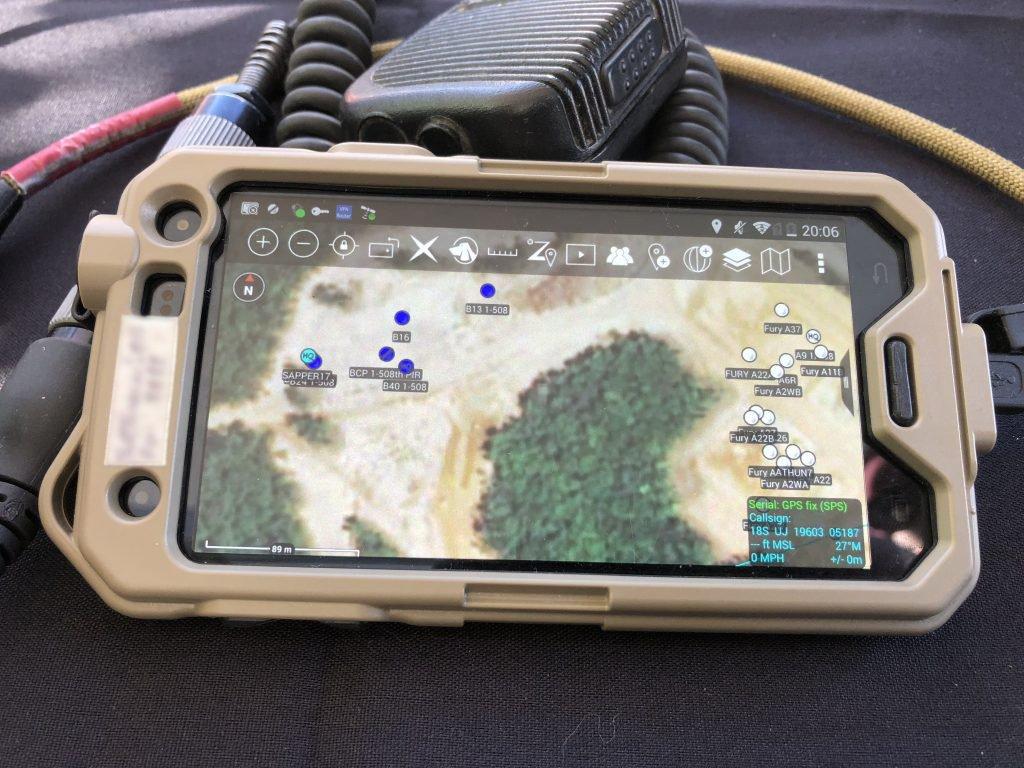 نرم افزار کنترل نیروهای جنگی توسط فرمانده
