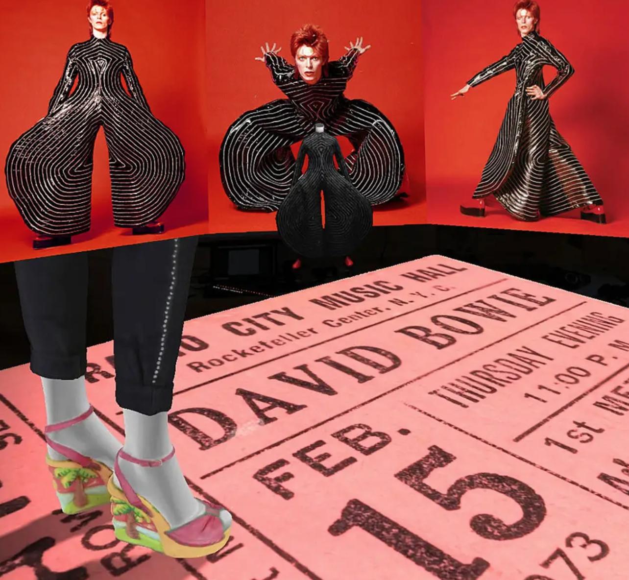 نمایشگاه واقعیت افزوده David Bowie
