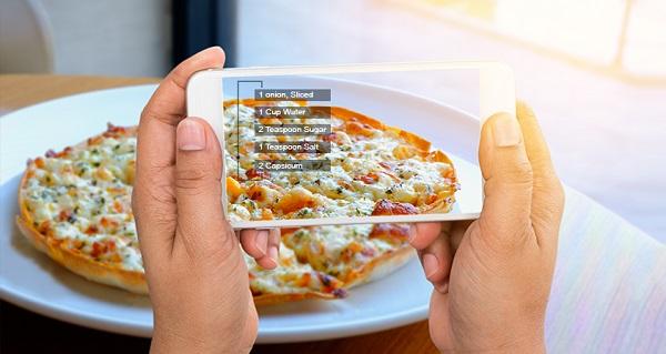 کاربرد واقعیت افزوده در رستوران ها و فست فودها