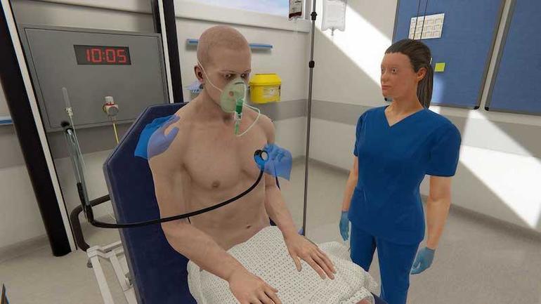 آموزش به صورت واقعیت مجازی